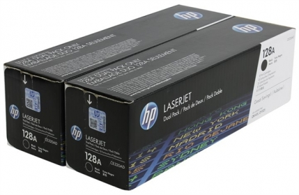 HP 128A fekete 2 db-os toner (CE320AD)