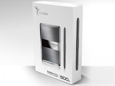 Adata HE720 500GB USB3.0 ezüst-fekete küldő merevlemez (AHE720-500GU3-CTI)