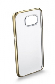 Cellularline Clear Crystal G920 Samsung GALAXY S6 arany átlátszó telefontok ( CLEARCRYGALS6H)