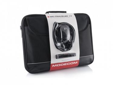 Modecom 3in1 szett 15,6'' traveler táska +egér +headset