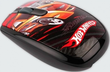 MODECOM MC-619 ART Hot Wheels 1 wireless optikai mintás egér (M-MC-0619-ART-HW-1)