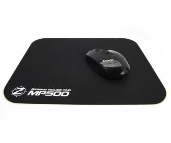 Zalman MP500 fekete gamer egérpad (ZM-MP500)