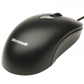 Microsoft 200 USB optikai fekete egér (35H-00002)