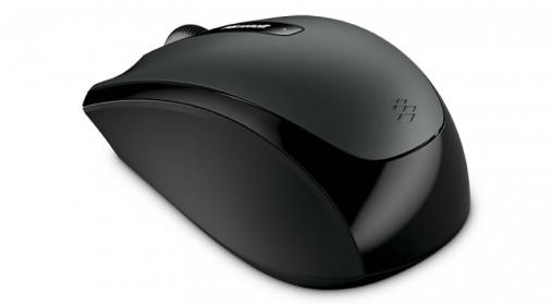 Microsoft 3500 wireless optikai fekete egér  (5RH-00001)