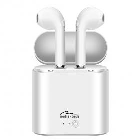 Media-Tech R-PHONES TWS headset, fehér (MT3589W)