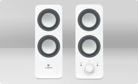 Logitech Z200 Fehér Hangszóró (980-000811)