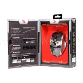 A4-Tech Bloody Terminator TL80 USB lézer fekete-ezüst gamer egér