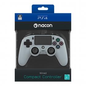 Playstation 4 Nacon vezetékes kontroller szürke
