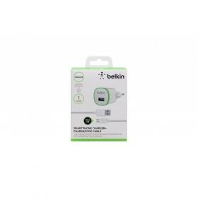 Belkin F8M710VF04-WHT USB 2.0 - MICRO USB zöld-fehér hálózati töltő