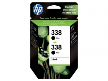 HP 338 fekete 2 db-os tintapatron (CB331EE)