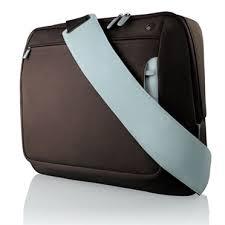 Belkin F8N051EARL 17'' barna-kék notebook táska