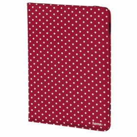 Hama Polka Dot 8'' piros-fehér tablet tok (135535)