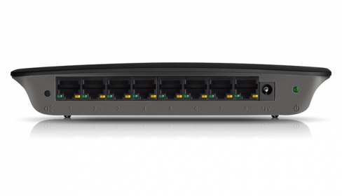 Linksys SE2800-EU 8 port  1000Mbps wireless wifi router