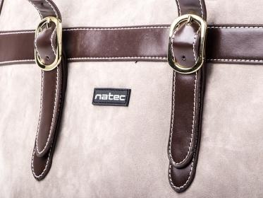 NATEC Caracal 15.6'' Barna Notebook táska (NTO-0722)