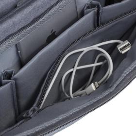 Rivacase Aspen 7530 15,6'' Szürke Notebook táska (NTRA7530G)
