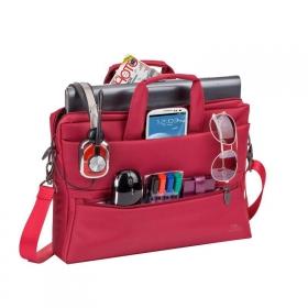 Rivacase Tiergarten 8630 15,6'' Piros Notebook táska (NTRT8630R)