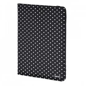 Hama Polka Dot 10,1'' fekete-fehér tablet tok (135536)