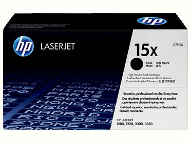 HP 15X fekete toner (C7115X)