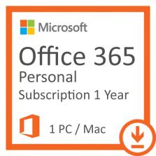 Microsoft Office 365 Personal 32/64 bit  1 felhasználó / 1 év Elektronikus licenc szoftver (QQ2-00012)
