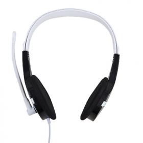ACME HM06 fekete-fehér mikrofonos fejhallgató (ACFHHM06)