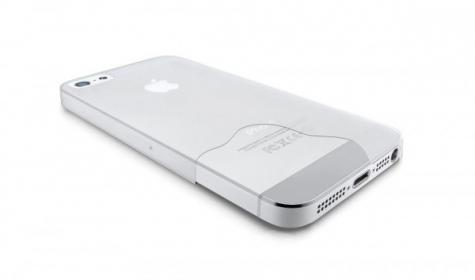 Cellularline  iPhone 5/5S átlátszó védőtok (035IPHONE5T)