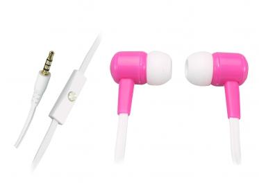 Sandberg Speak'n Go In-Earset mikrofonos fehér-pink headset (125-65)