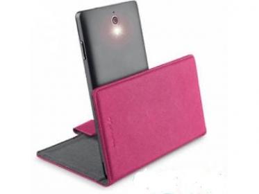 Cellularline Book Case ''XL'' univerzális rózsaszín telefontok (BOOKUNI1LP)