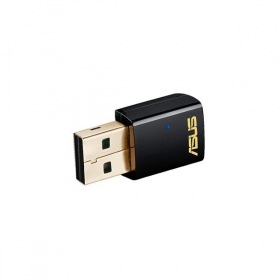 Asus PCE-AC51 Wireless 802.11ac fekete kétsávos Wifi adapter (PCE-AC51)