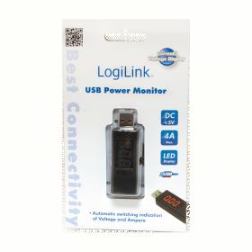 Logilink 1-portos USB fogyasztásmérő (PA0067)