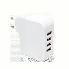 LogiLink 4portos hálózati USB töltő (PA0096)