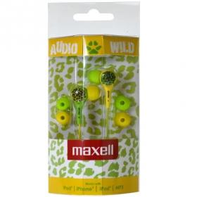 MAXELL WILD THINGS Fülhallgató Zöld/sárga (303600.00.CN)