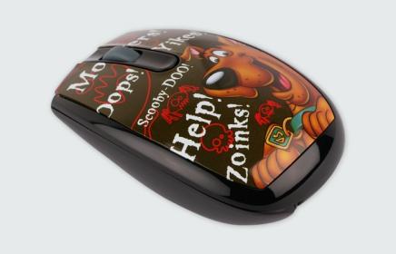 MODECOM MC-619 ART Scooby Doo 2 wireless optikai egér (M-MC-0619-ART-SD-1)