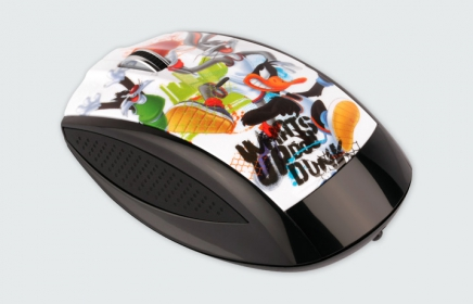 MODECOM MC-619 ART Looney Tunes 1 wireless optikai egér (M-MC-0619-ART-LT-1)