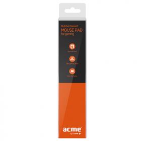 ACME Rubber Based fekete gamer egérpad