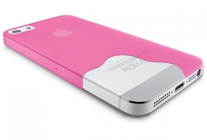 Cellularline iPhone 5/5S pink védőtok (035IPHONE5F)