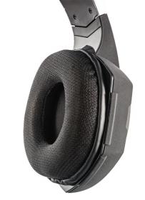 Trust GXT 363 7.1 USB mikrofonos vibráló fekete-kék gamer headset (20407)