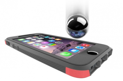 Thule Atmos X4 iPhone 6/6S fekete-piros telefontok (TAIE-4124FC/DS)