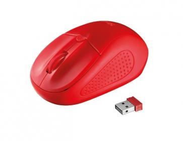 Trust Primo wireless optikai piros egér (20787)