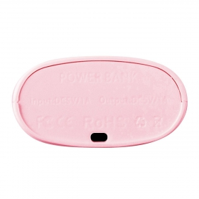 Proda E5000 Series Power Bank 5000 mAh, pink