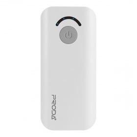 Proda Jane Power Bank 6000 mAh, fehér
