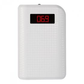 Proda LCD Power Bank 10000 mAh, gyöngyház