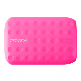 Proda Lovely Power Bank 10000 mAh, pink