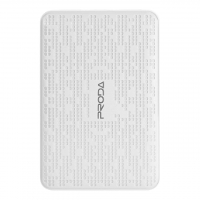 Proda Pure Power Bank 12000 mAh, hófehér
