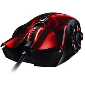 RAZER Naga Hex Wraith USB lézer fekete-piros gamer egér (RZ01-00750200-R3M1)