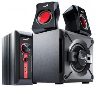 Genius SW-G2.1 1250 Fekete-Piros Gamer Hangszóró (31730980100)