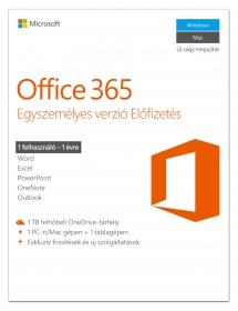 Microsoft Office 365 Egyszemélyes verzió (QQ2-00527)