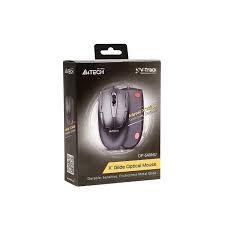 A4Tech OP-540NU USB optikai fekete egér (A4TMYS43986)