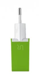 Trust Urban limezöld dupla USB-s töltő okostelefonokhoz (20150)