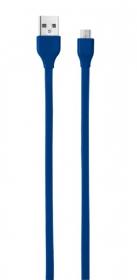 Trust 20136 kék 1m micro USB adatkábel