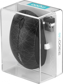 RAPOO 3300P wireless optikai fekete mintás egér (142030)